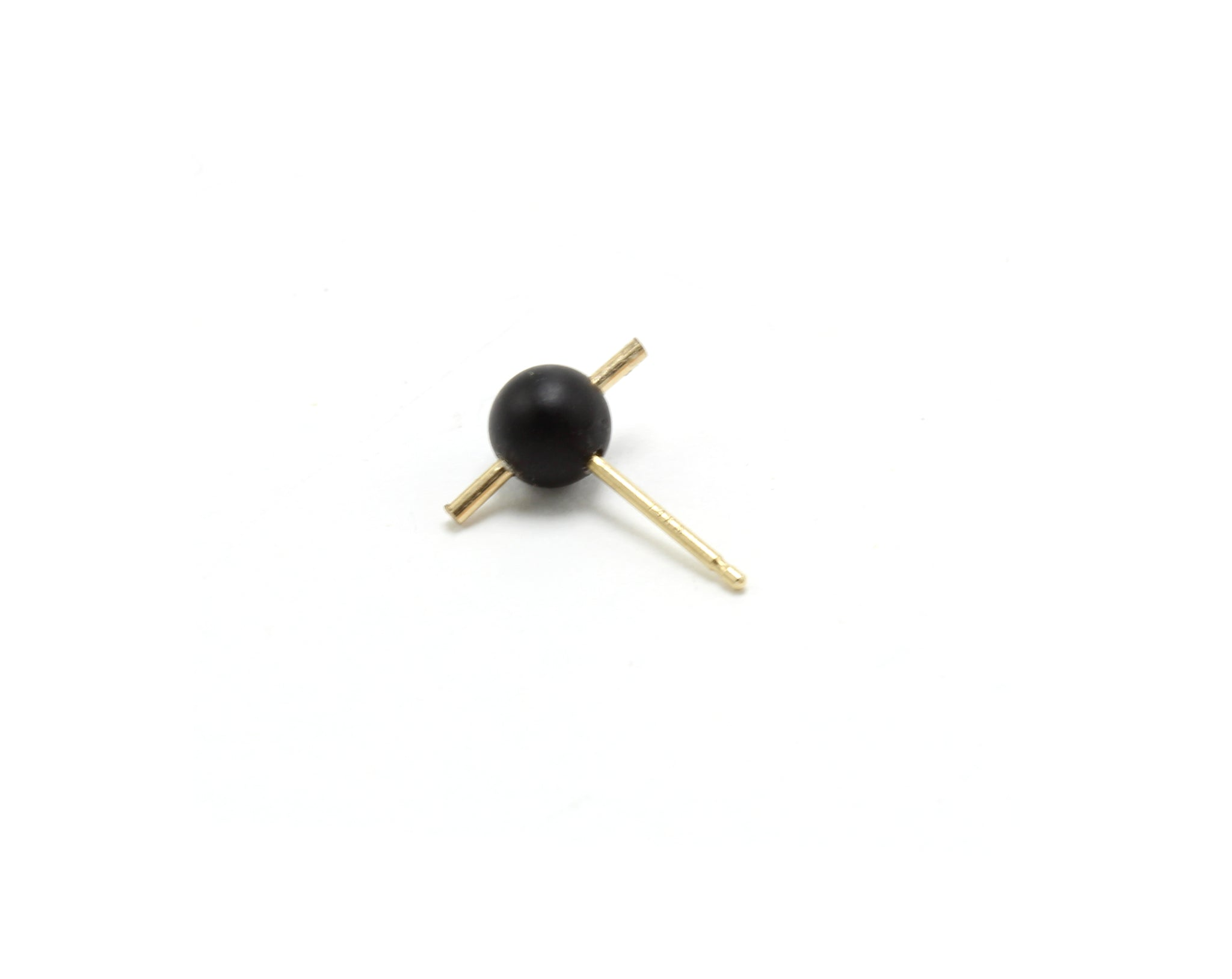 ORION SINGLE STUD / ONYX