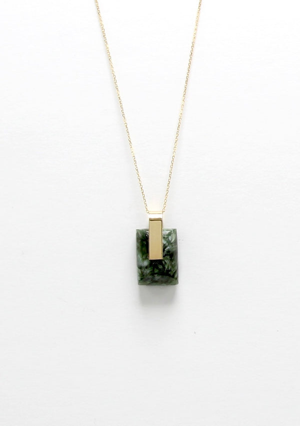 SOLA NECKLACE / SERAPHINITE I