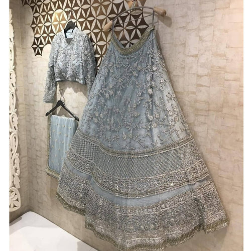 New Arrival Heavy Embroidered Work Lehenga Chol