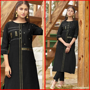 Fancy Trendy Rayon Kurti Pent For Girls