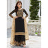 Black Color Faux Georgette Salwar Suit 2021