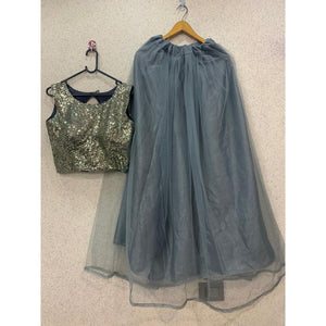 Superb Grey Lehenga Choli