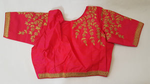 Hot pink Saree Blouse