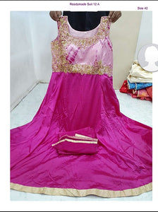 EB Pink Gown QN1-12A