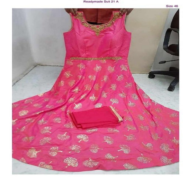 EB Pink Gown QN1-21A