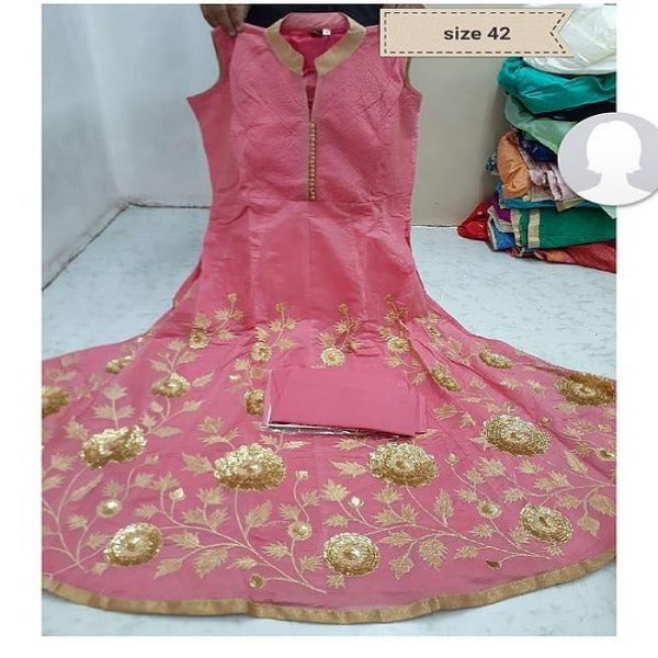 EB Pink Gown QN1-21