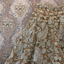 Load image into Gallery viewer, Gold Silver Reception Lehenga