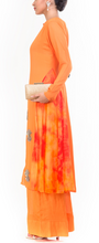 Load image into Gallery viewer, A-Line Tunic With Palazzo - Long Tunic And Pants | Mohar By Ekka Couture