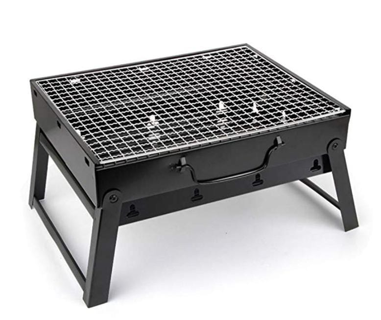 Mini Portable Folding Charcoal BBQ Grill Outdoor Picnic