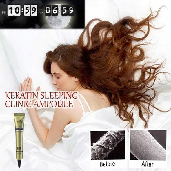 Keratin Sleeping Clinic Ampoule