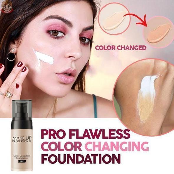 PRO Flawless Color Changing Foundation