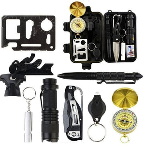 9-in-1 Survival Kit Tactical