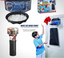 Load image into Gallery viewer, 2-in-1 Basketball Hoop and Hamper
