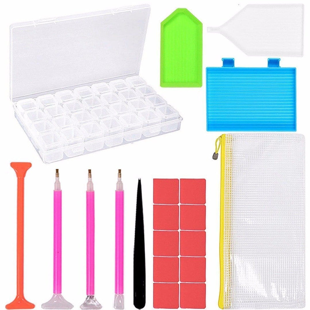 5D DIY Diamond Painting Kits 21 Pcs