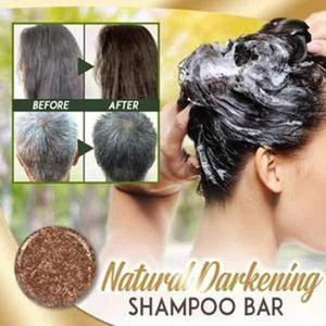 Hair Darkening Shampoo Bar - VickyPlus™