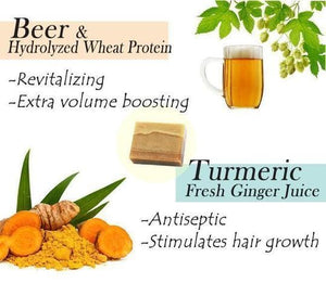 FULL-Volume Beer Turmeric Shampoo Bar