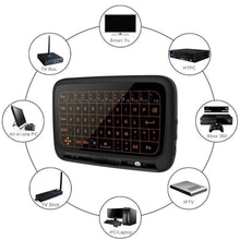 Load image into Gallery viewer, Wireless Touchpad Backlit Mini Keyboard