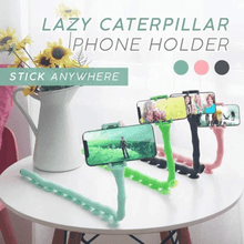 Load image into Gallery viewer, LAZY CATERPILLAR PHONE HOLDER