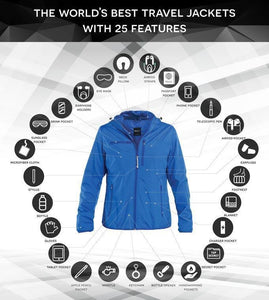 BAUBAX 2.0-The World's Best TRAVEL JACKET with 25 Features