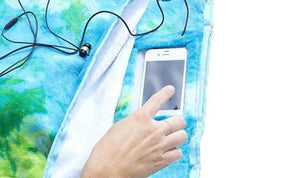 Beach Towel with Pillow, Water-resistant Pocket and Touch Screen Phone Pocket