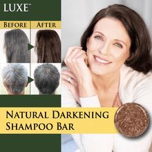Load image into Gallery viewer, LUXE™ Natural Darkening Shampoo Bar