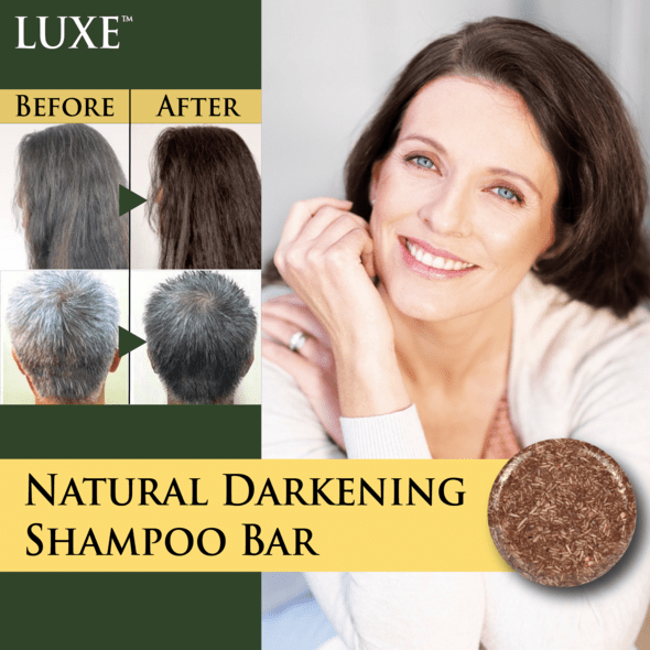 LUXE™ Natural Darkening Shampoo Bar