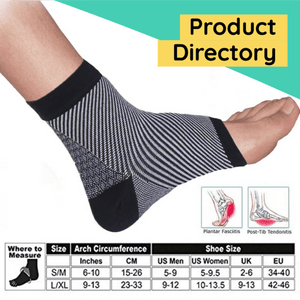 CURE™ Pain Relief Compression Foot Sleeve