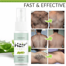 Load image into Gallery viewer, Natural Permanent Hair Removal Spray