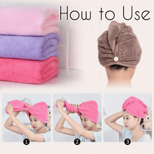 Load image into Gallery viewer, Rapid Dry Hair Turban