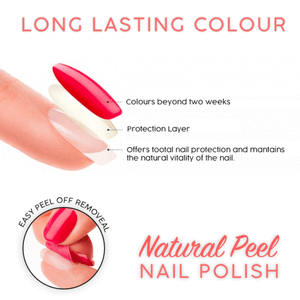 Natural Peel Nail Polish