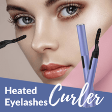 Load image into Gallery viewer, Heated Eyelashes Curler