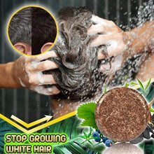 Load image into Gallery viewer, Hair Darkening Shampoo Bar - VickyPlus™