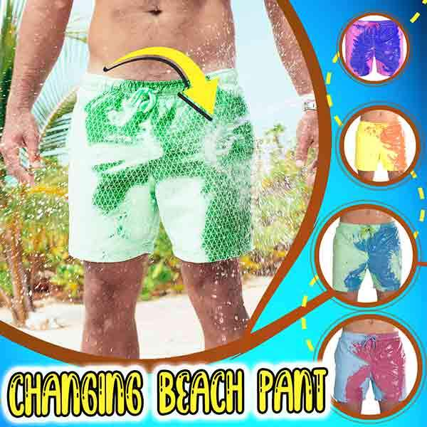 Changing Beach Pants