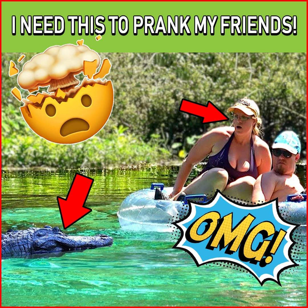 Alligator Prank - Top Race Remote Controlled Boat