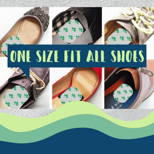 Odor Fighting Shoe Inserts (Set of 6)