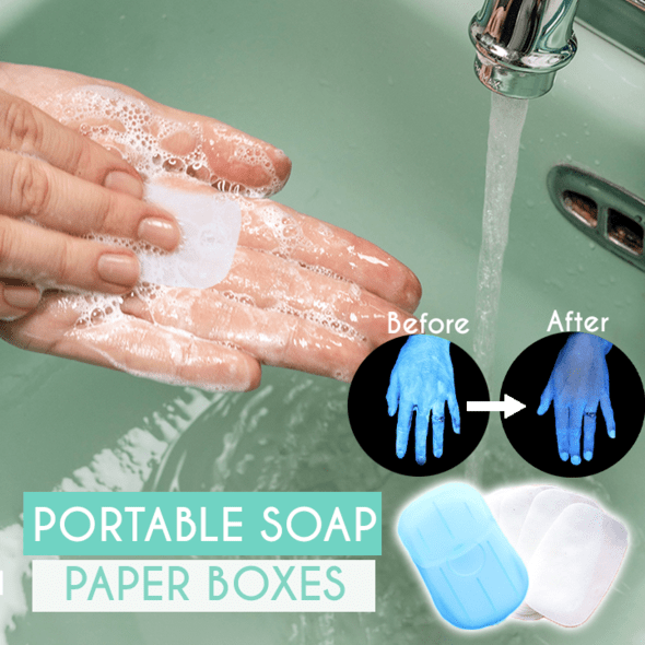 Portable Soap Paper Boxes