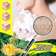 Load image into Gallery viewer, Pimple Back Treatment Ginseng Soap