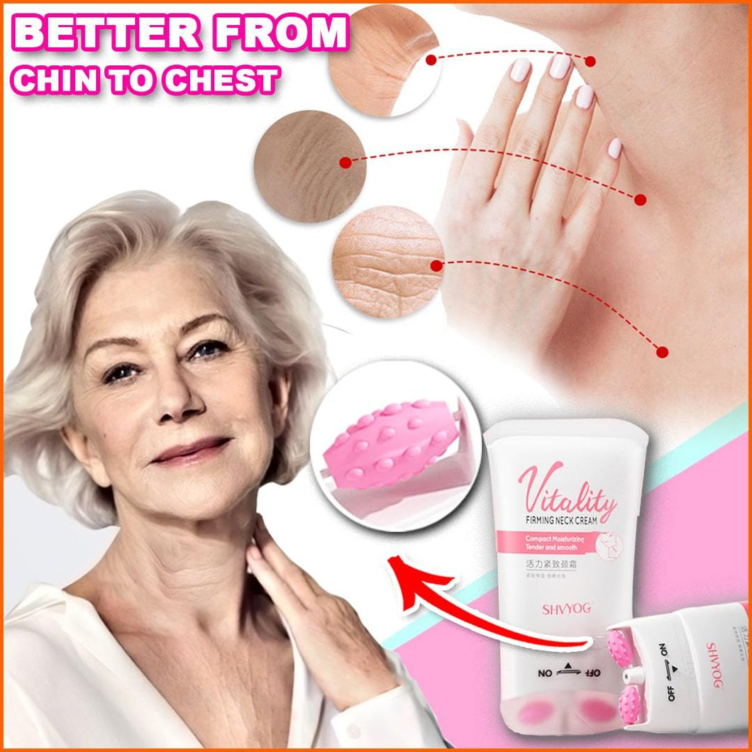 Double Roller - Firming Neck Cream