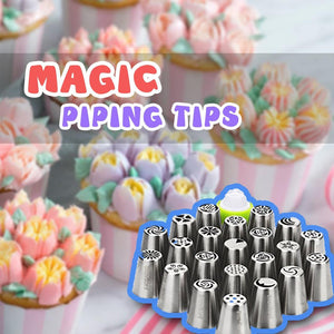 Magical Cake Decor Piping Tips