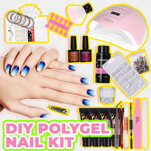 Poly-gel Nail Home Master Kit
