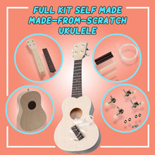 Load image into Gallery viewer, One-of-a-kind Self Made Ukulele