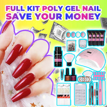 Load image into Gallery viewer, Poly-gel Nail Home Master Kit