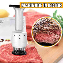 Load image into Gallery viewer, Stainless Steel Marinade Meat Injector