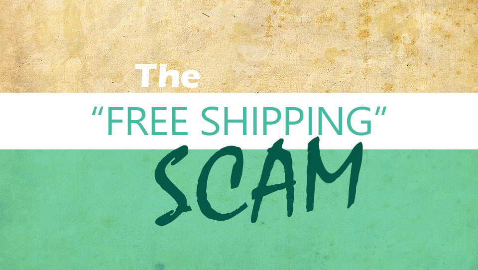 Why I will NEVER offer Free Shipping