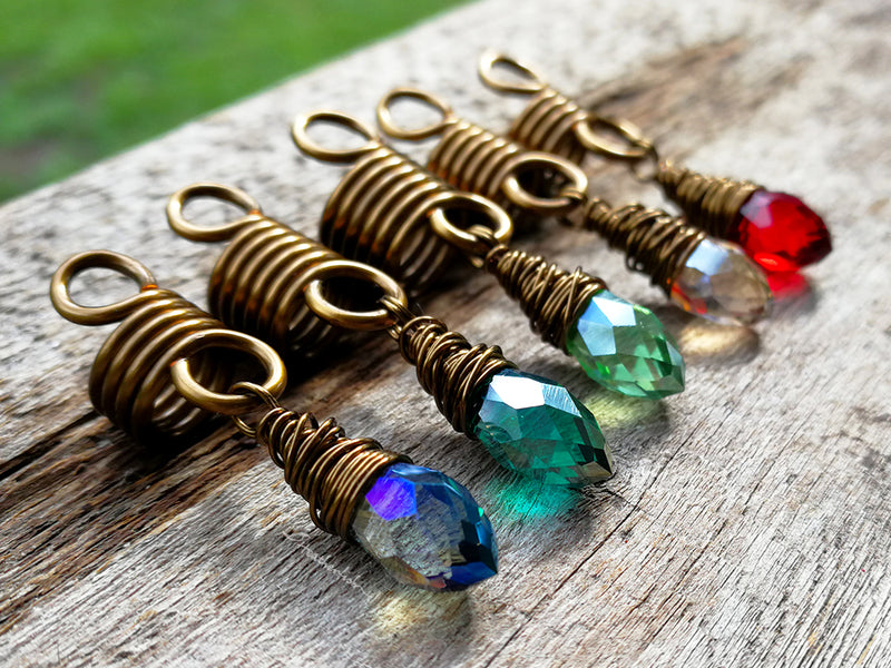 Rainbow Loc Beads, Set of 5