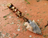 Arrowhead Dreadlock Bead