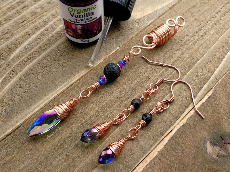 Copper Diffuser Earrings