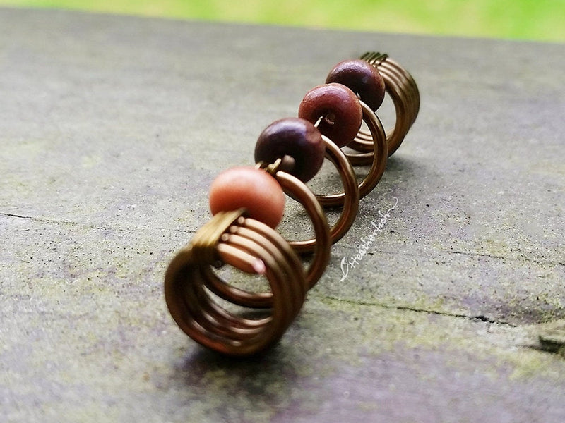 Earthy Dreadlock Bead