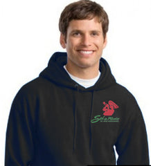 Sol de Mexico Pullover Hooded Sweatshirt (black only)