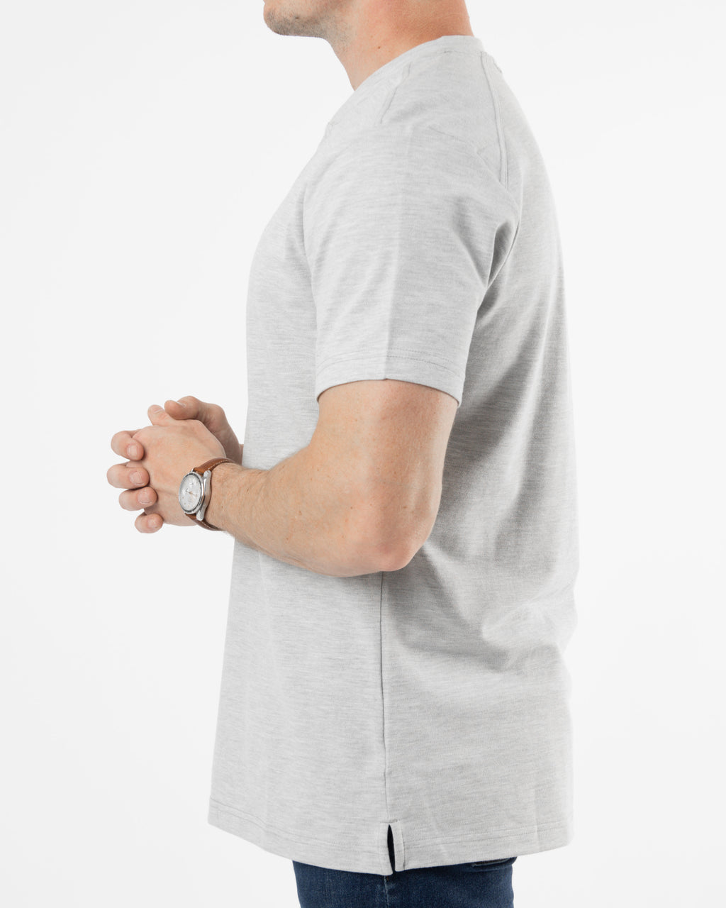 Polo Henley ~ Grey